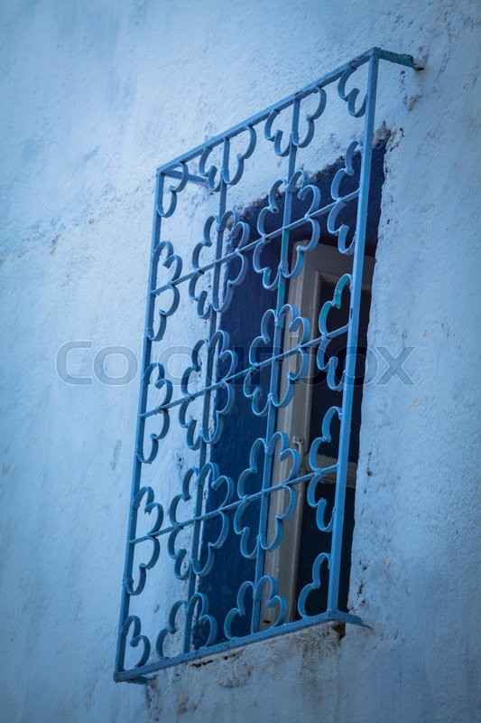 Stock image of 'Blue medina of Chechaouen, Morocco'