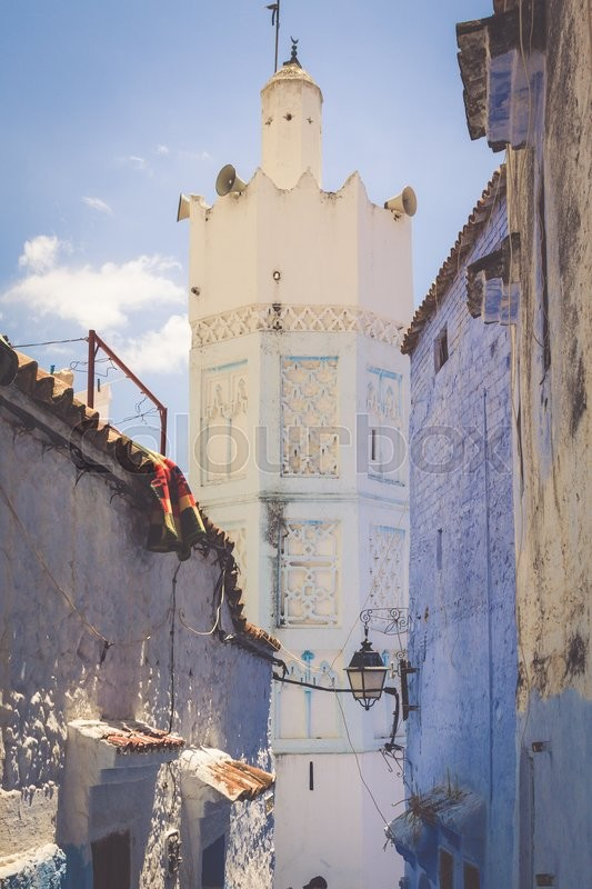 Stock image of 'Chefchaouen Old Medina, Morocco, Africa'