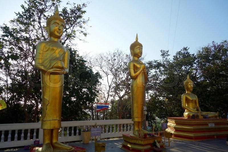 Stock image of 'Buddha statue'