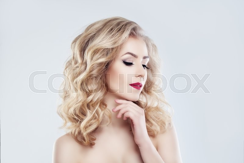Stock image of 'Spa Woman Fashion Model. Healthy Skin, Cute Face'