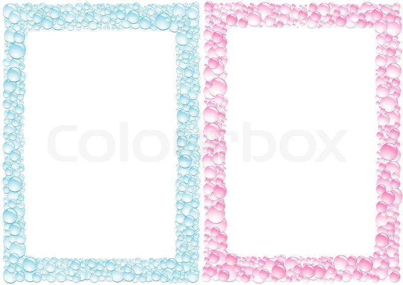 pink und blau tropfen viereckigen vektorgrafik colourbox. Black Bedroom Furniture Sets. Home Design Ideas