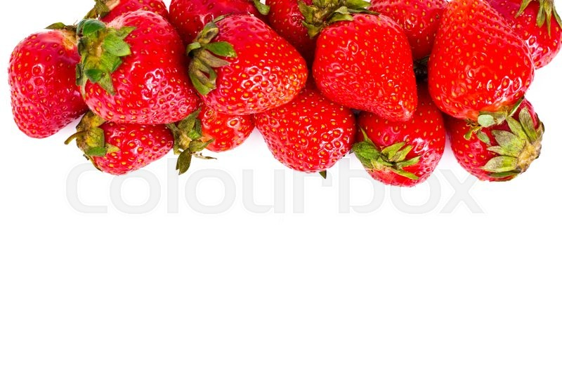 Stock image of 'Tasty Sweet Strawberry Studio Photo'