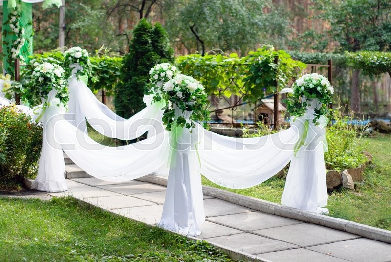 Stock image of 'Wedding arch'