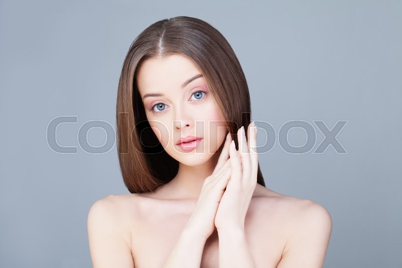Stock image of 'Spa Woman. Skin Care Concept. Healthy Woman with Clear Skin'