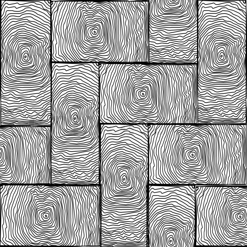 Line And Texture In Art : Parchet small texture black and white art illustration