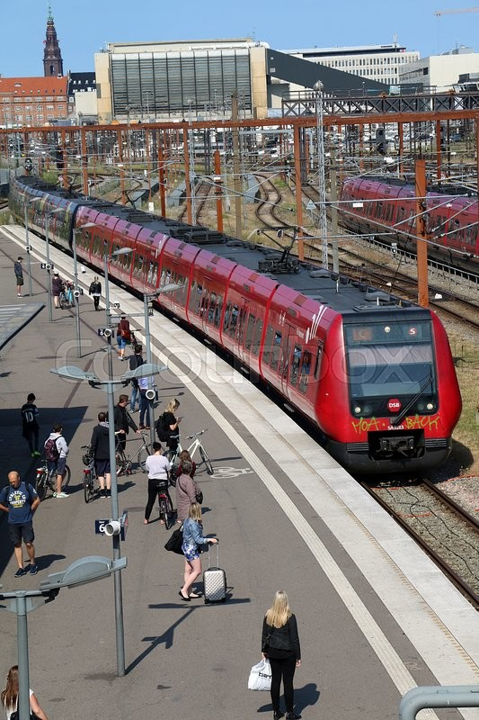 Editorial image of 'train, dsb, s-tog'