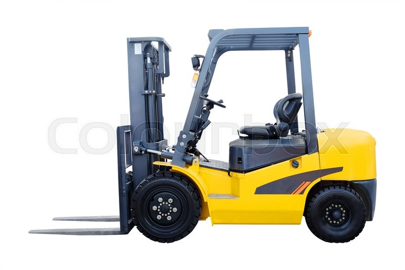 Stock image of 'The image of loader under the white background'