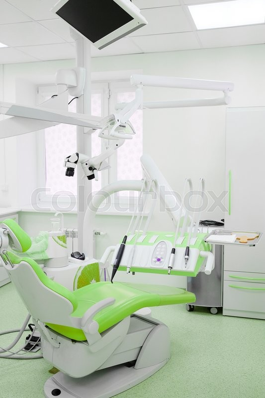 Stock image of 'Interior of a stomatologist's office'
