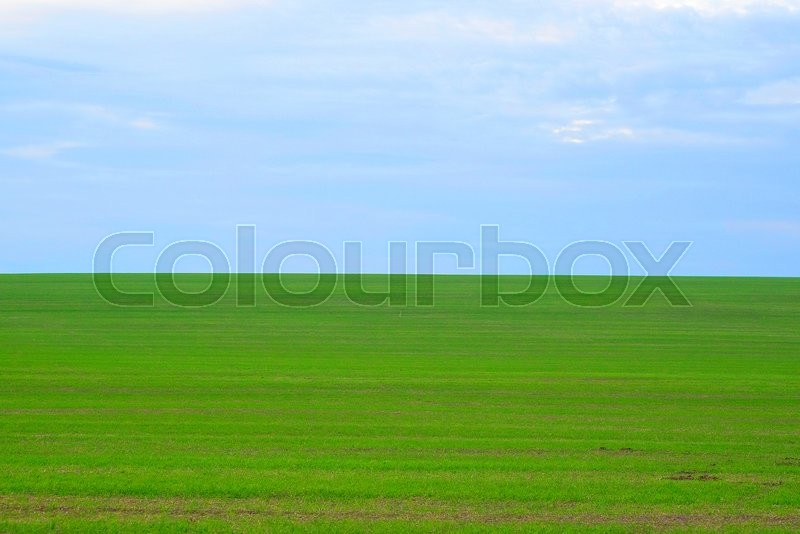 Stock image of 'image of a field'