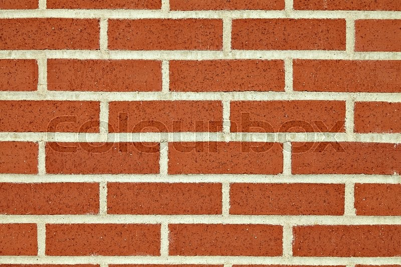 Stock image of 'Background of the red brick wall texture.'