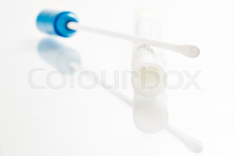 Stock image of 'dna, swabbing, swabs'