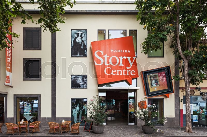 Editorial image of 'FUNCHAL, MADEIRA - JuLY 06: Madeira Story Centre on July 06, 2014 in Madeira, Portugal. Madeira Story Centre is a spectacular interactive museum.\'