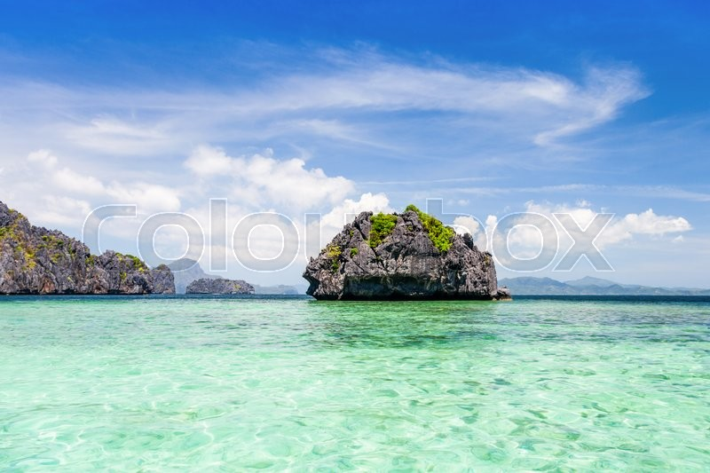 Stock image of 'Beauty tropical island in the sea, Philippines'