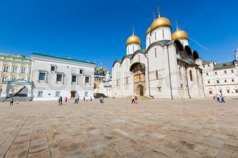 Stock image of 'Assumption Cathedral of Moscow Kremlin, Russia.'