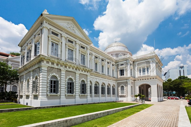 Editorial image of 'The National Museum of Singapore is a national museum in Singapore and the oldest museum in Singapore.'
