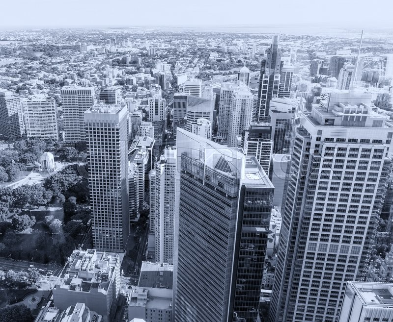 Stock image of 'Sydney skyline - New South Wales.'