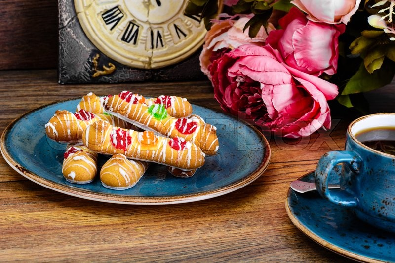 Stock image of 'Delicious Sweet Cookies with Jujube. Studio Photo'