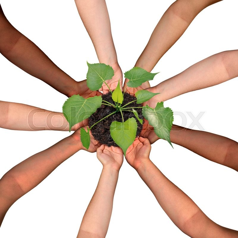 Community collaboration and cooperation concept and social ...