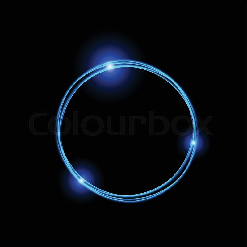 glow circles background rotation video and of abstract with rays rings stock animation light depositphotos neon