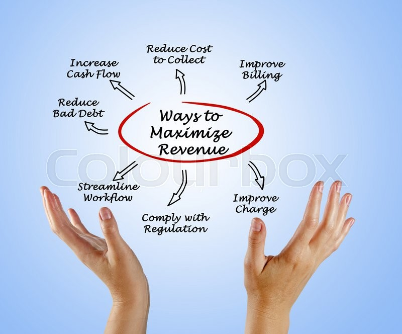 Stock image of 'Maximize Your Revenue Cycle'