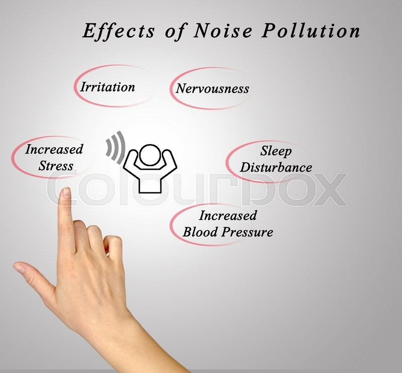 Stock image of 'Effects of Noise Pollution\'