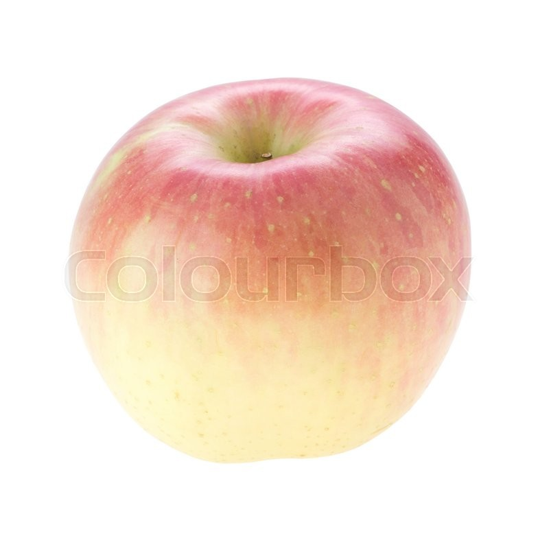 Stock image of 'Apple fuji isolated on white background'