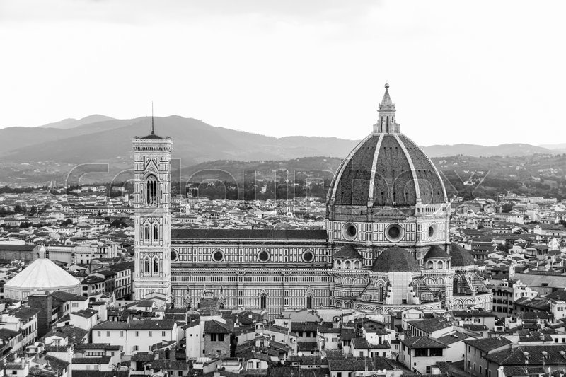 Stock image of 'The Duomo of Florence, Italy'