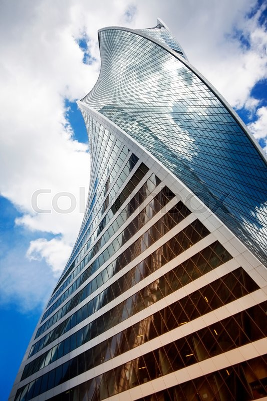 Stock image of 'Moscow, Russia - June 10, 2016: Moscow City. View of skyscrapers Moscow International Business Center.'