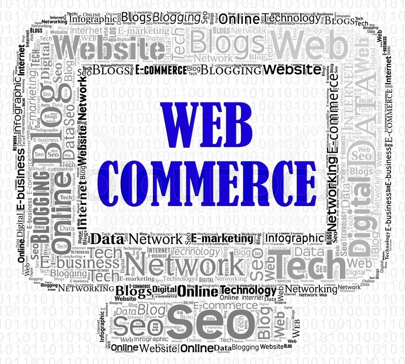 Stock image of 'Web Commerce Indicates Purchase Www And Business'