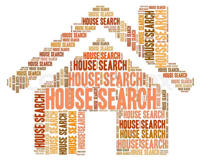 Stock image of 'House Search Indicates Housing Residence And Inquiry'