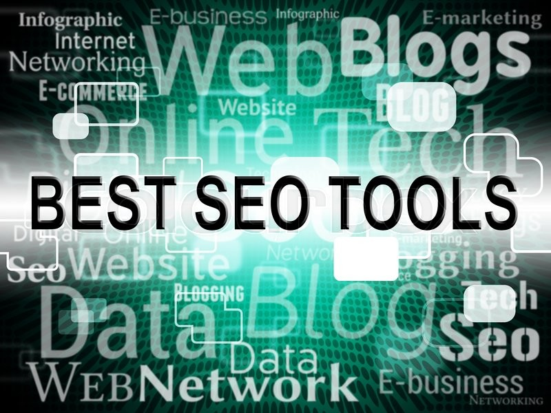 Stock image of 'Best Seo Tools Represents Search Engine And Application'