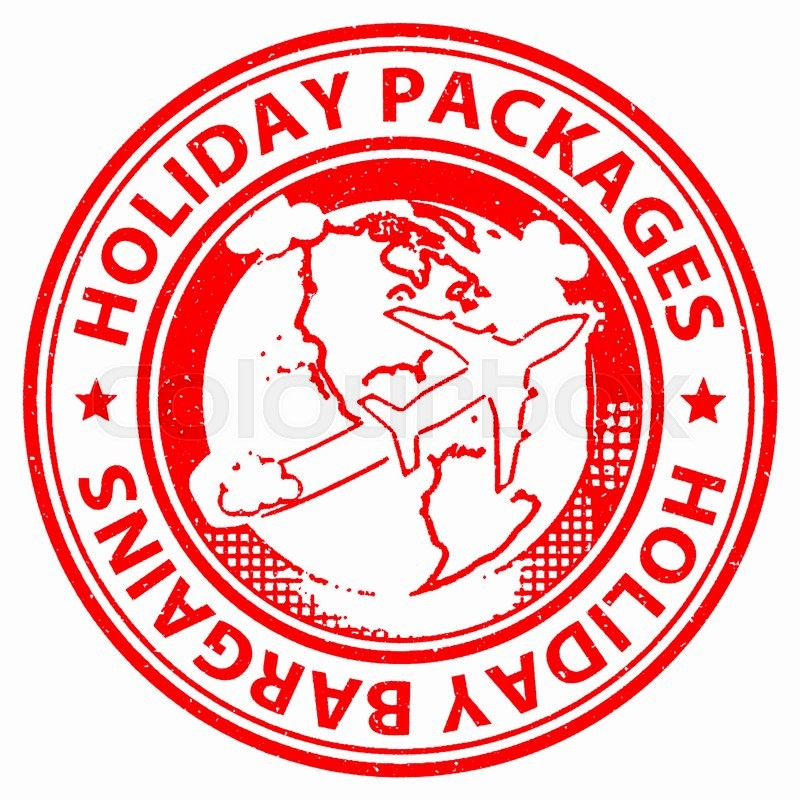 Stock image of 'Holiday Packages Indicating Fully Inclusive And Holidays'