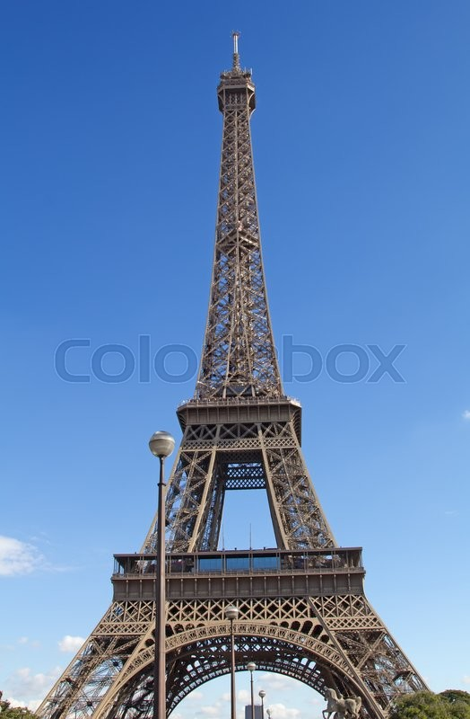 Stock image of 'Eiffel tower - onr the main symbols of Paris'