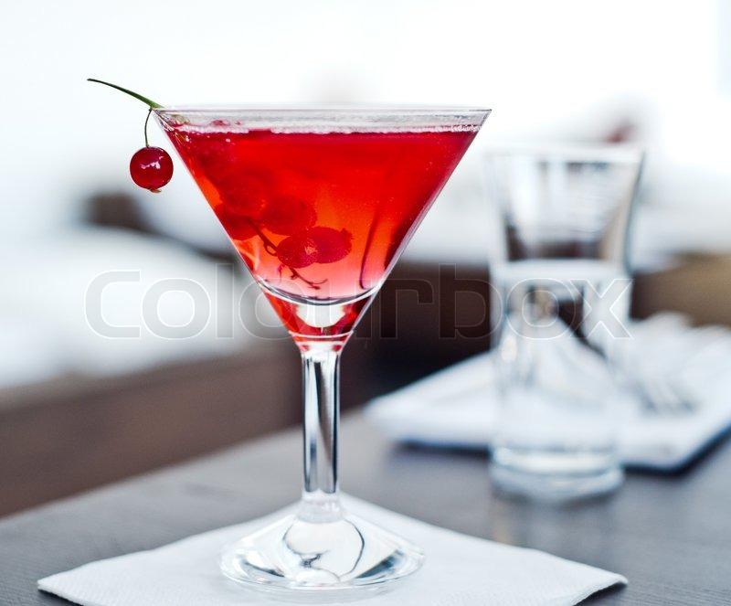 Red Drink, Cosmopolitan