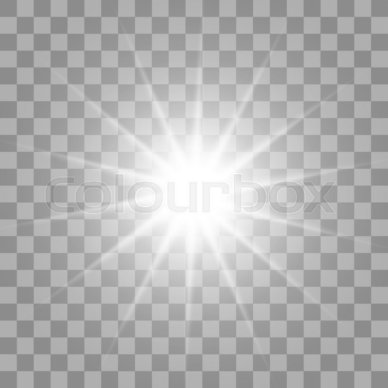 white glowing light burst explosion with transparent vector illustration for cool effect Christmas Star Clip Art Free Yellow Starburst