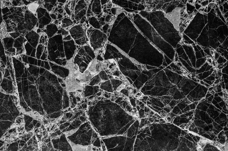 Black and white marble stone texture for background, stock photo