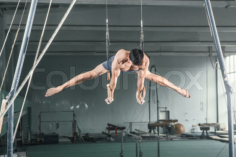 Stock foto af 'gymnast, physical-culture, en'