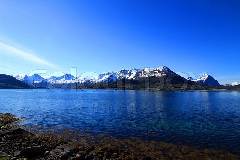 Stock foto af 'Beautiful Landscape of Northern Norway'