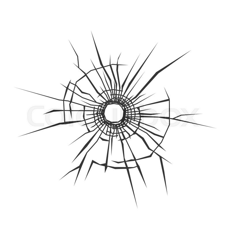 bullet hole in glass white background vector magnifying glass clipart characters magnifying glass clip art images