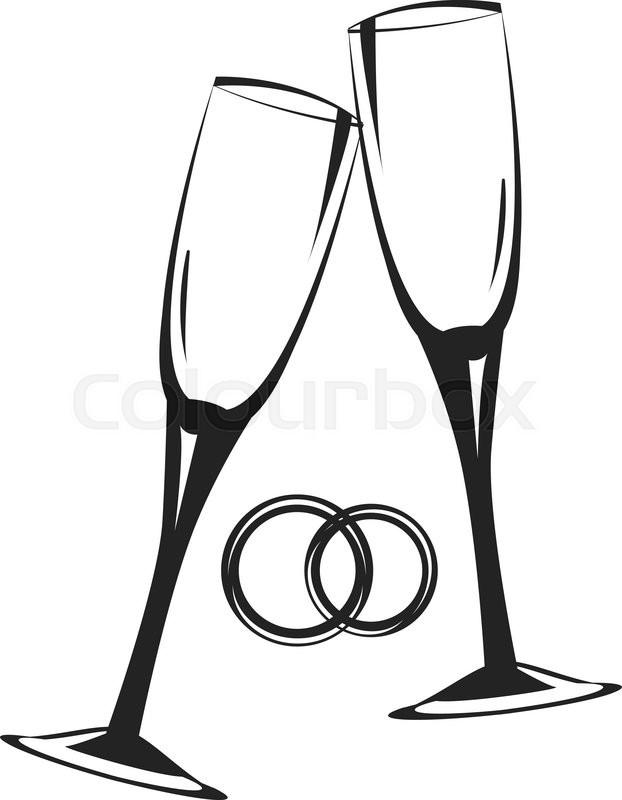 weddings rings drawings cartoon
