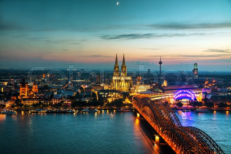 Stock foto af 'cologne, hohenzollern, destination'