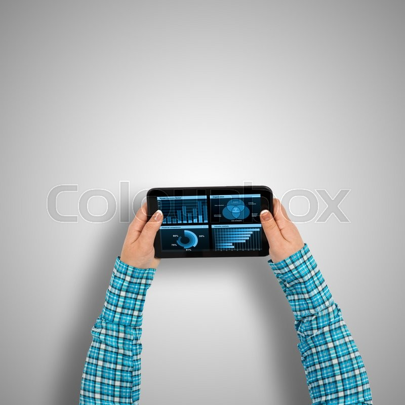 Stock foto af 'vise, touchpad, touch'