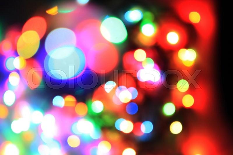 christmas lights as nice holiday color background stock photo colourbox
