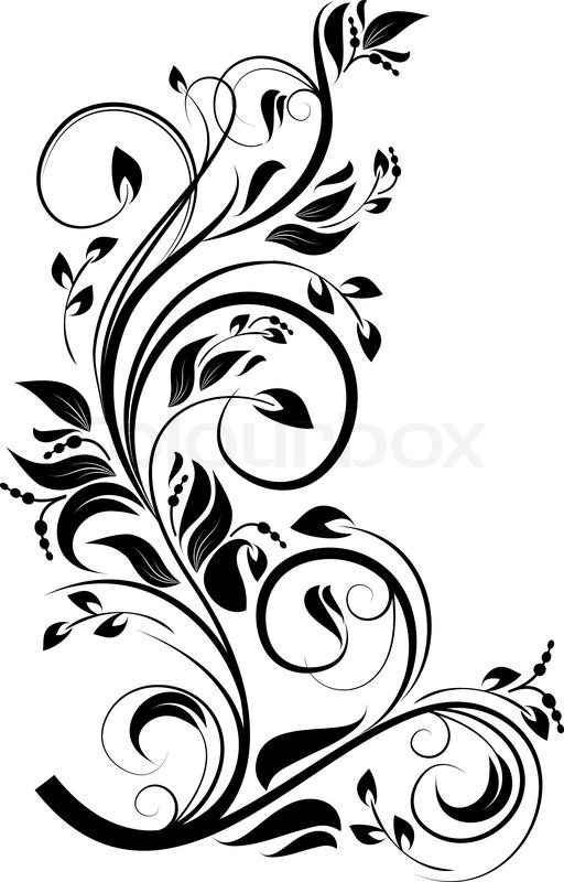 Quot Flower Pattern For Design As A Background Vector