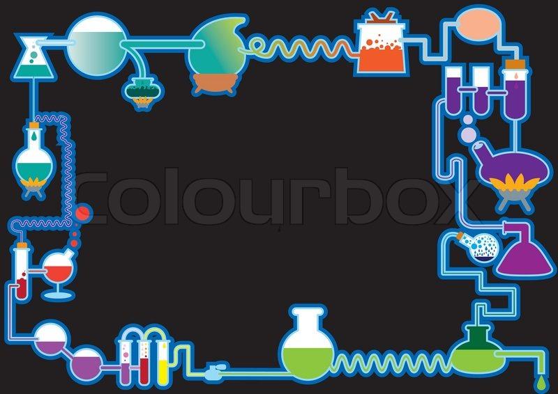 chemical plant  frame