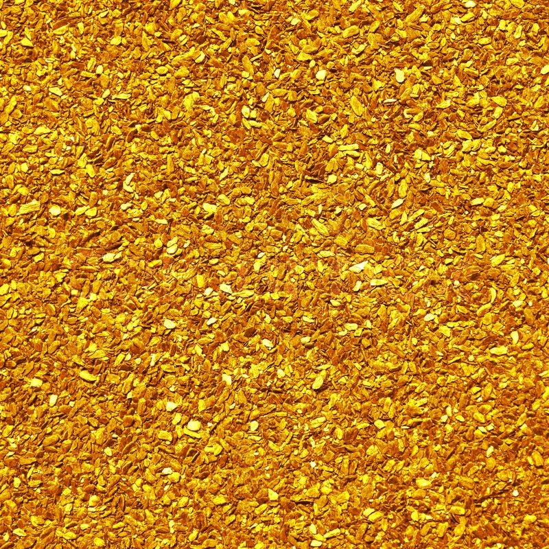Scattering Of Small Nuggets Of Gold Stock Photo Colourbox