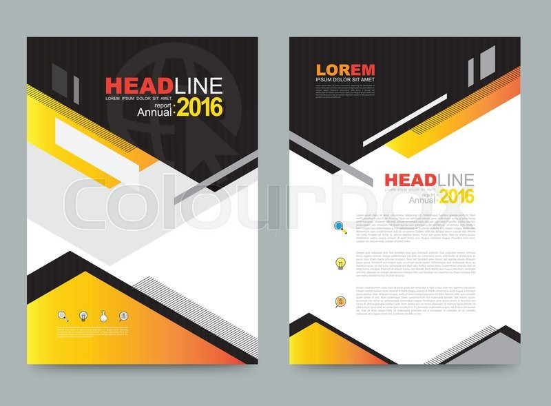 Elegant Book Cover Template : Vector cover design template simply and elegant style can