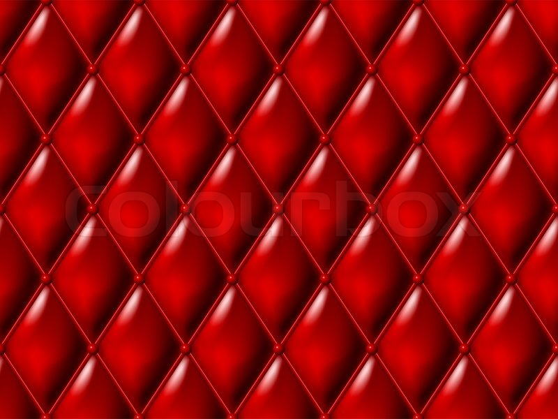 Red Leather Seamless Background Stock Image