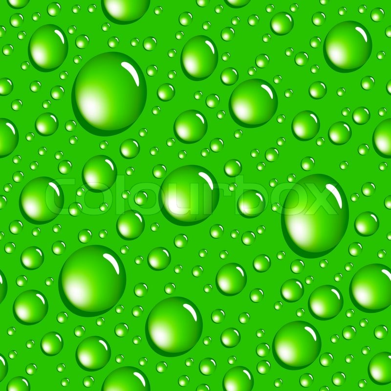 water green drops seamless pattern   background for