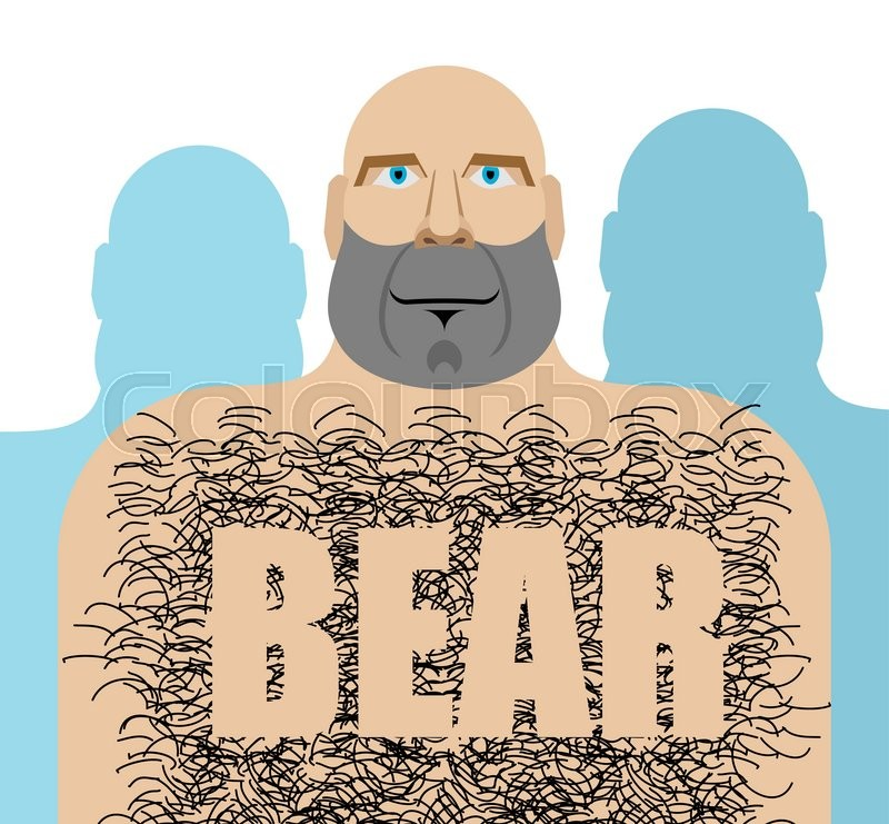 hairy men Gay bear